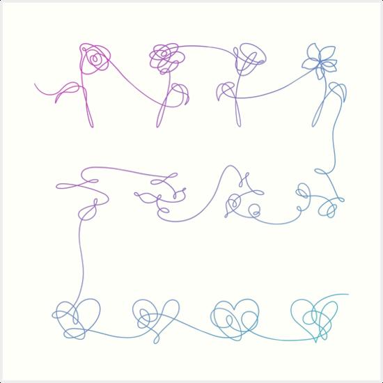 Love Yourself Google Ɛœå°‹ Desenhos De Love Bts Desenho Bts Papel De Parede
