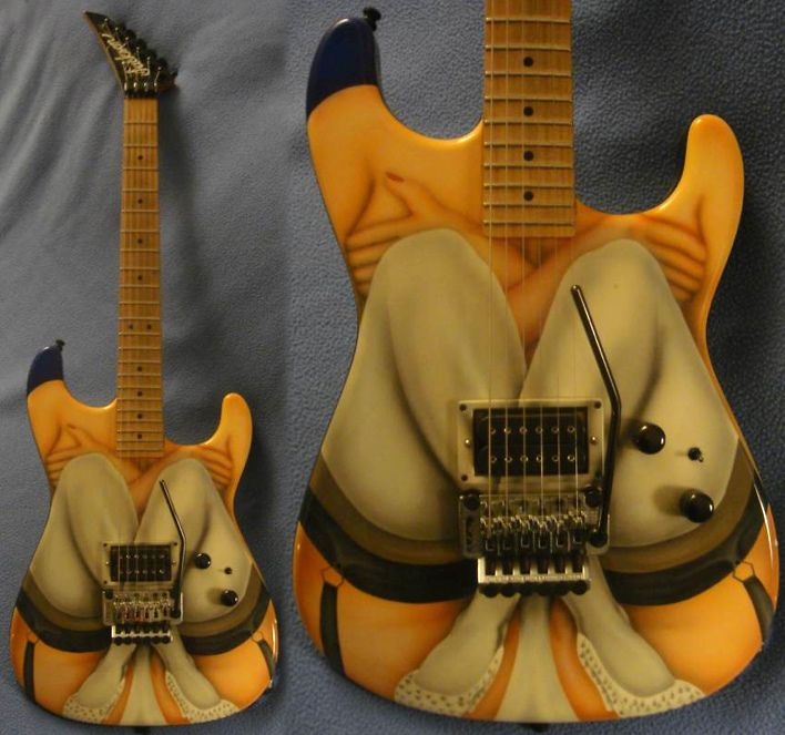 Custom Painted Guitars