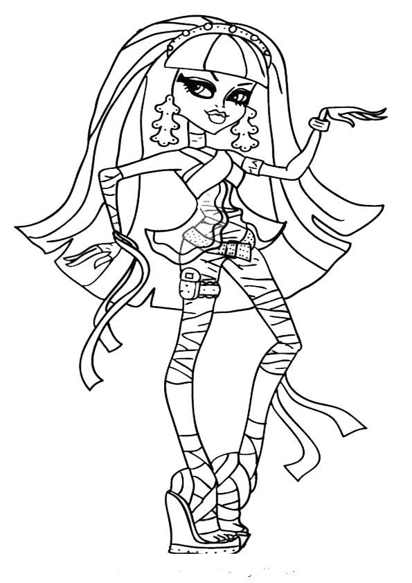 Ausmalbilder Monster High Cleo De Nile 63 Malvorlage Monster High Ausmalbilder Kostenlos Ausmalbilder Monster H Monster High Monster High Party Coloring Pages