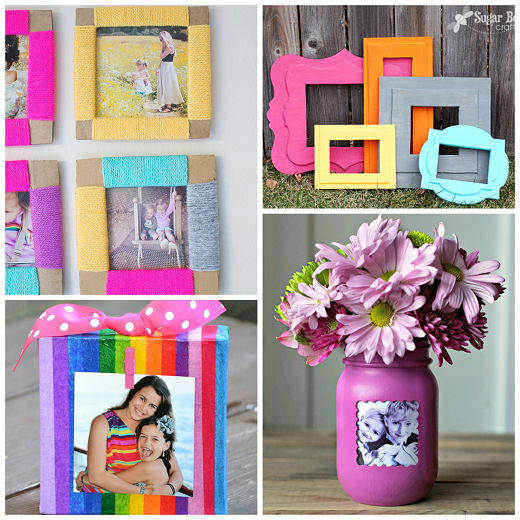 craft ideas for picture frames here are a bunch of creative diy photo frames that you can 6221