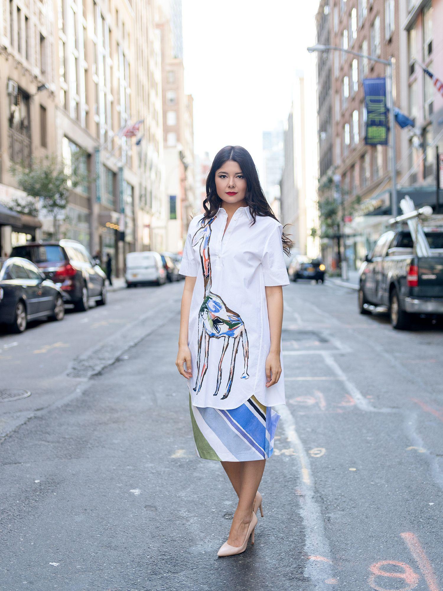 SHIRT DRESS | FASHIONAMBIT