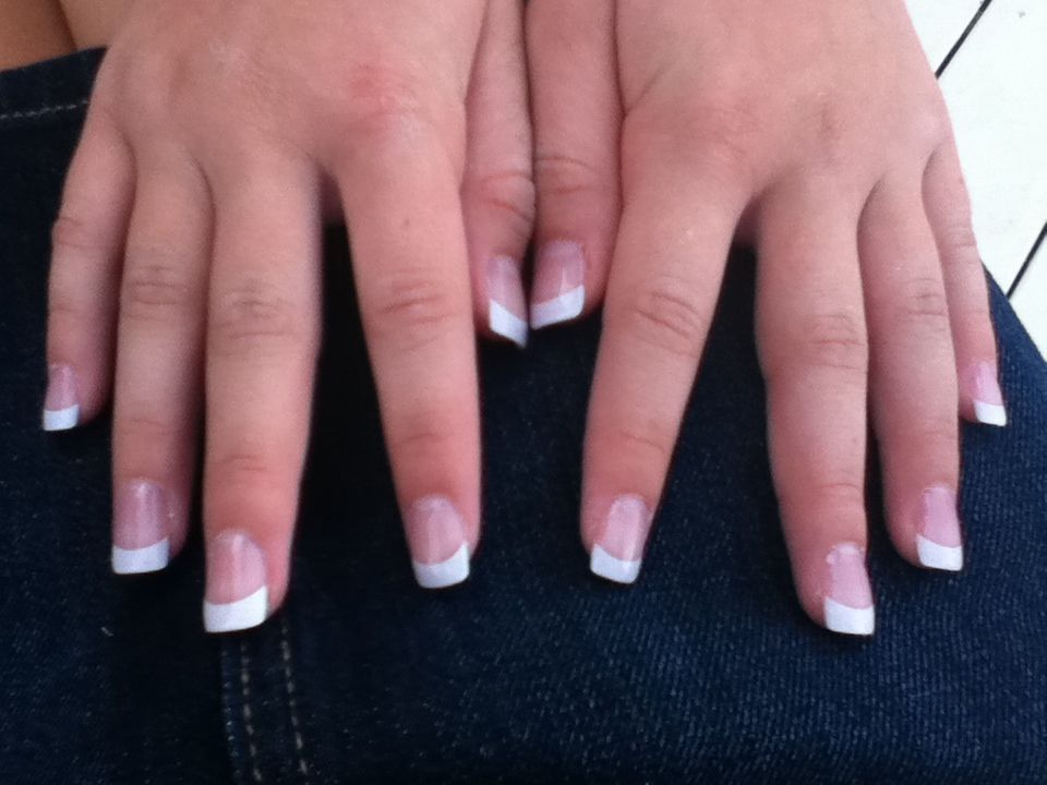 French Manicure, Fake nails | Nail Ideas | Pinterest