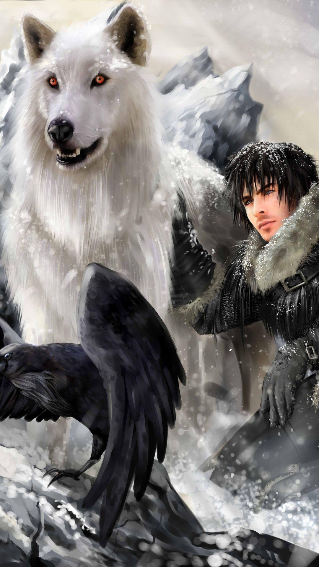 Jon Snow Targaryen 5k Mobile Wallpaper (iPhone, Android