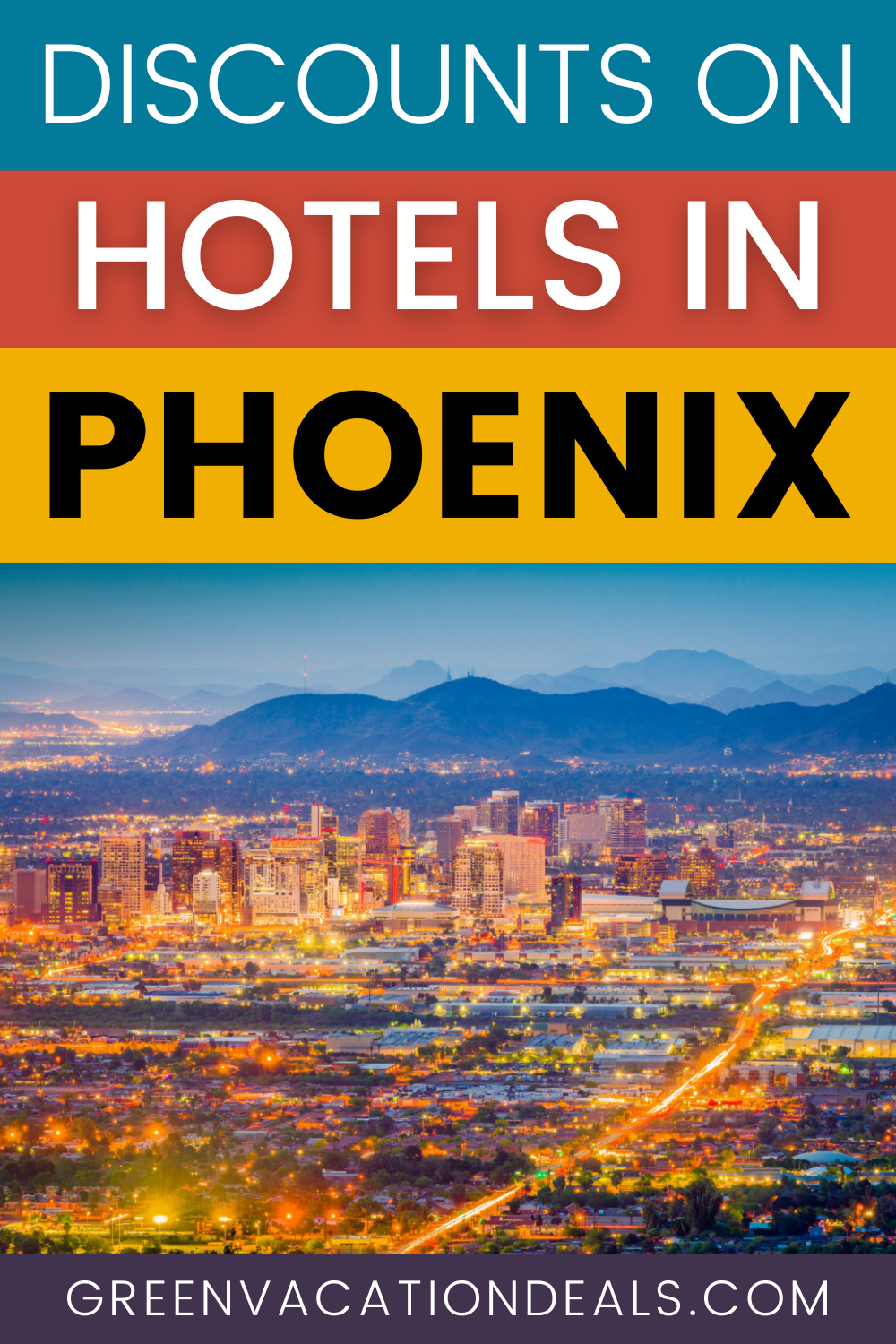 Budget travel deals: discounted nightly rates on Phoenix, Arizona hotels in Scottsdale, Glendale, Airport, Mesa, Chandler, Downtown, Stadium, Mesa, I-17... Great travel hacks for your next Phoenix trip. #Phoenix #PhoenixAZ #Arizona #HotelDeals #TravelDelas #HotelSale #TravelHacks #Arizonatravel #budgettravel #budgettraveler #cheaptravel #cheapvacation #budgetvacation #USAtravel #UStravel
