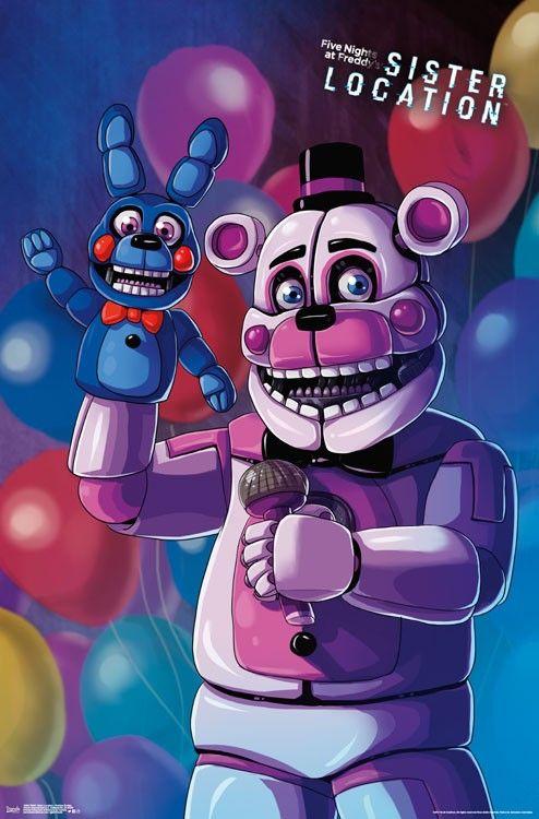 Five Nights At Freddyu0027s: Sister Location   Funtime Freddy