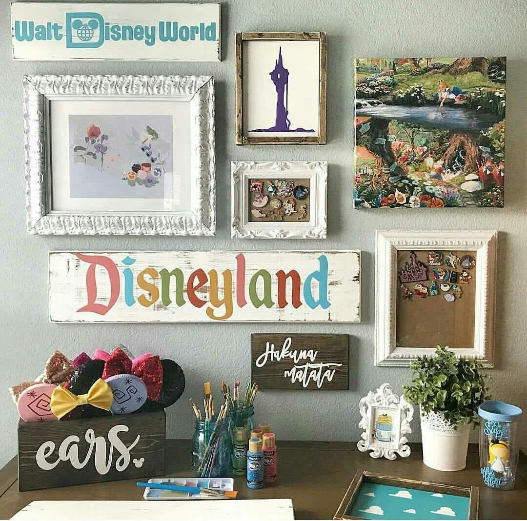 Disney Art Wall Disney Decor Disney Room Decor Disney Home Decor