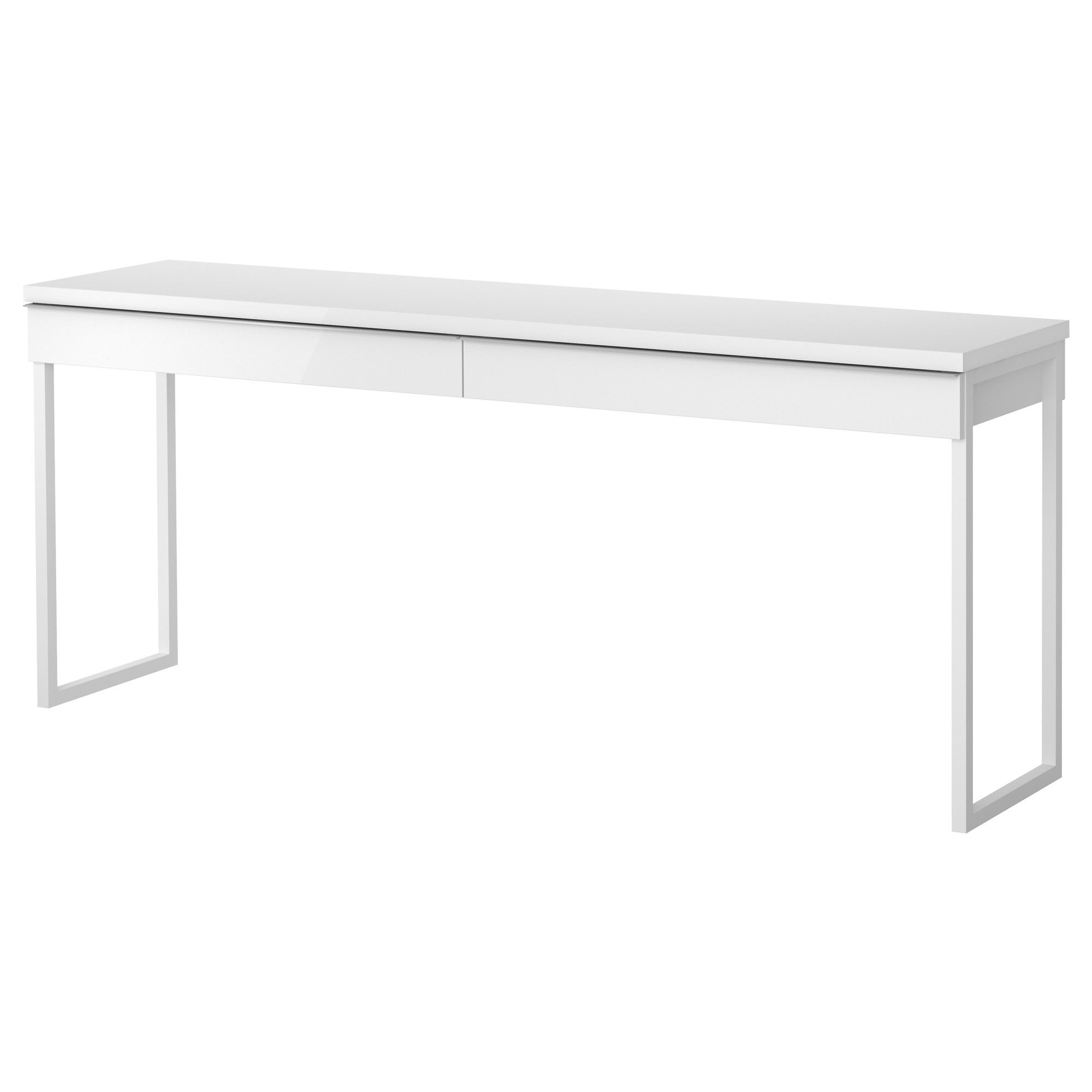 ikea white office furniture. IKEA - BESTÅ BURS, Desk, , Two People Can Work Comfortably At The Desk With This Long Table Top.The High-gloss Surfaces Reflect Light And Give A Vibrant Ikea White Office Furniture W