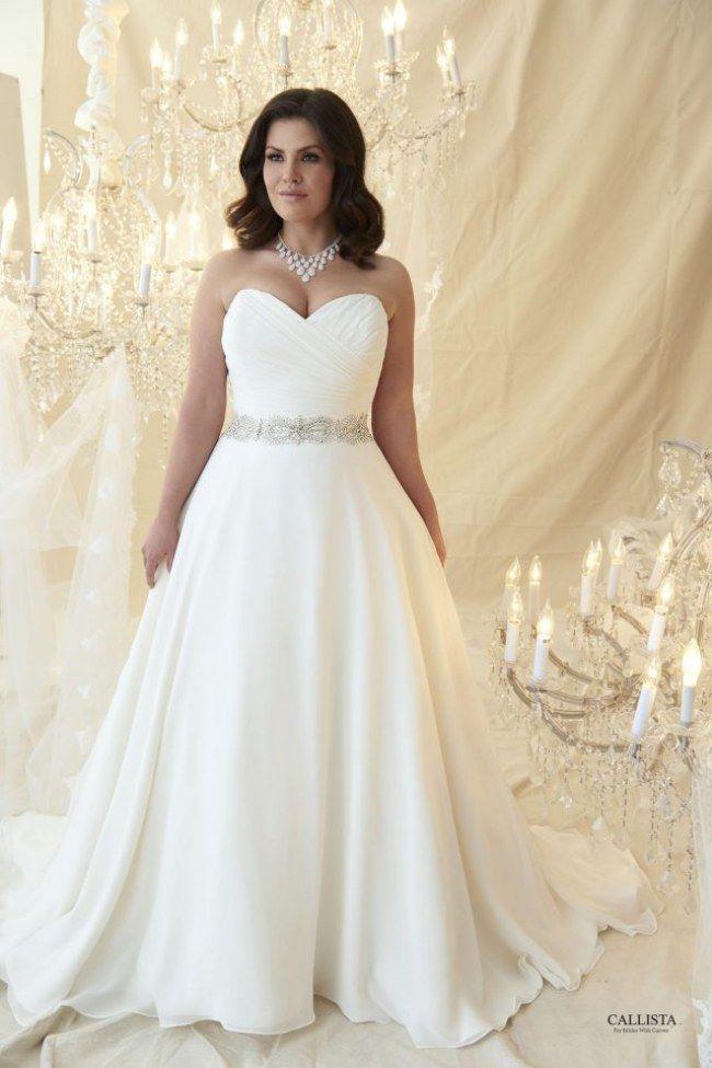 Welches Brautkleid für Mollige? In DIESEN Kleidern sehen Kurven ...
