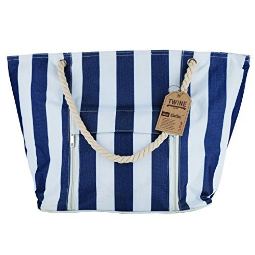 Seaside Nantucket Insulated Picnic Tote by Twine