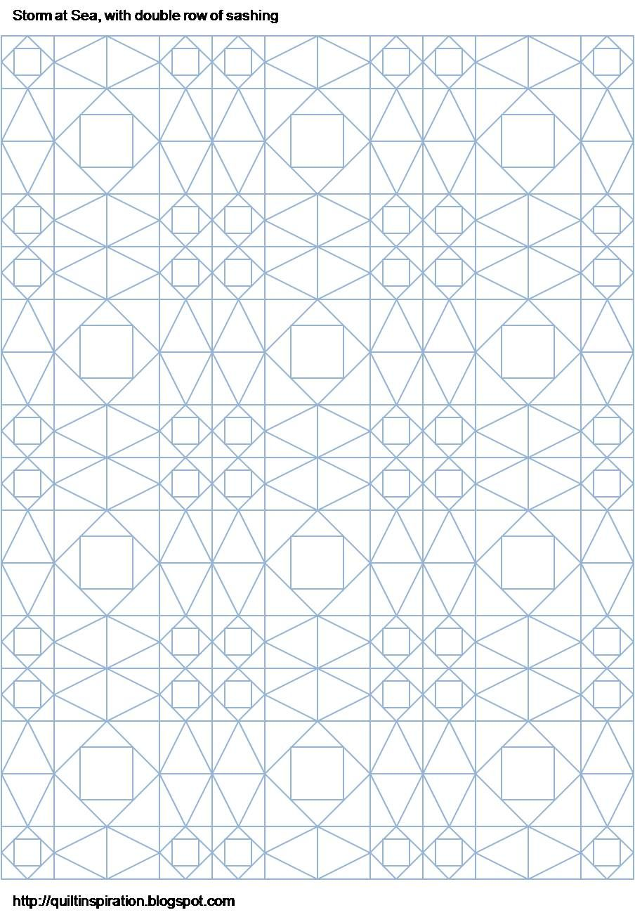 quilt inspiration storm at sea quilts and free block diagradouble sashing [ 904 x 1302 Pixel ]