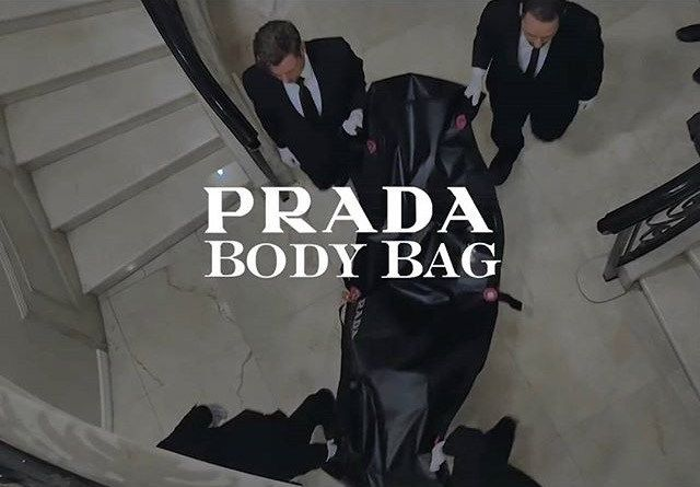 329f8191a989 Prada Body Bag – It s the last bag you ll ever need. What will the coroner  carry YOU away in when you die  And who cares cause you ll be DEAD.