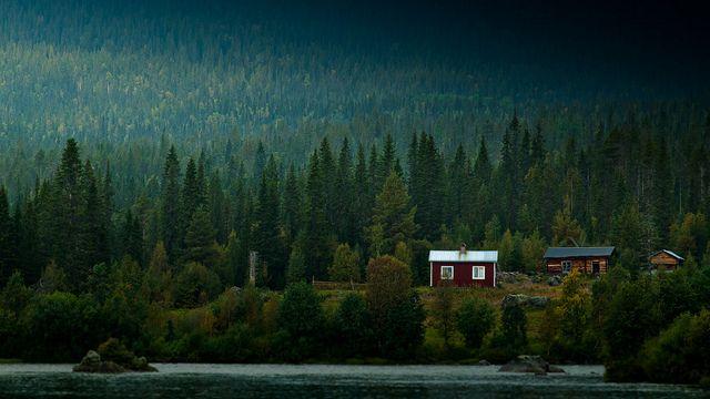Saggat Lake, Sweden