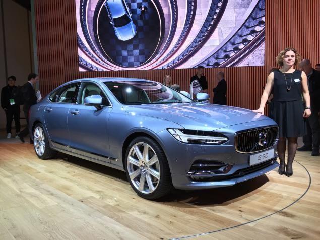 Detroit Auto Show 2017 Volvo Debut