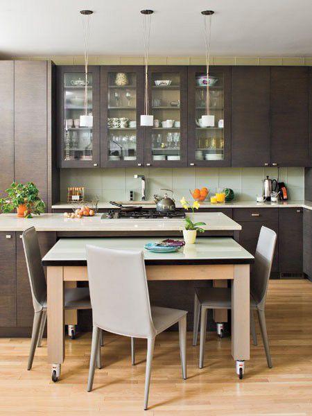 Microondas en cocinas buscar con google cocinas for Mesas extraibles salon