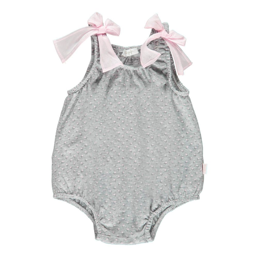e45df6bf1c63 Floral Romper Il Gufo Baby- A large selection of Fashion on Smallable