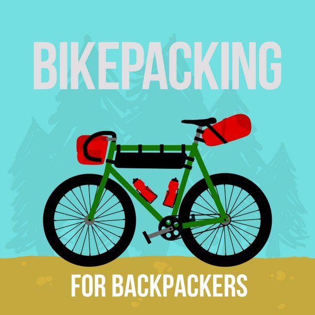 Bikepacking is Backpacken met de fiets!