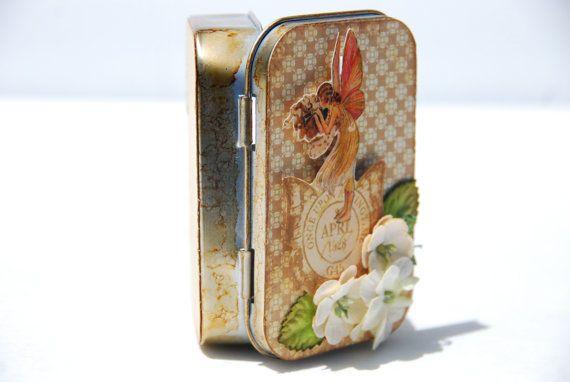 Altered Altoid Tin Fairy by WindyDayzDesigns on Etsy
