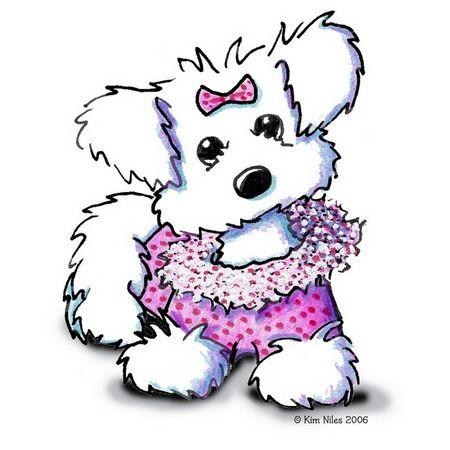 Fashion Princess | Cutesy Illustrations | Dog art, Puppy ...
