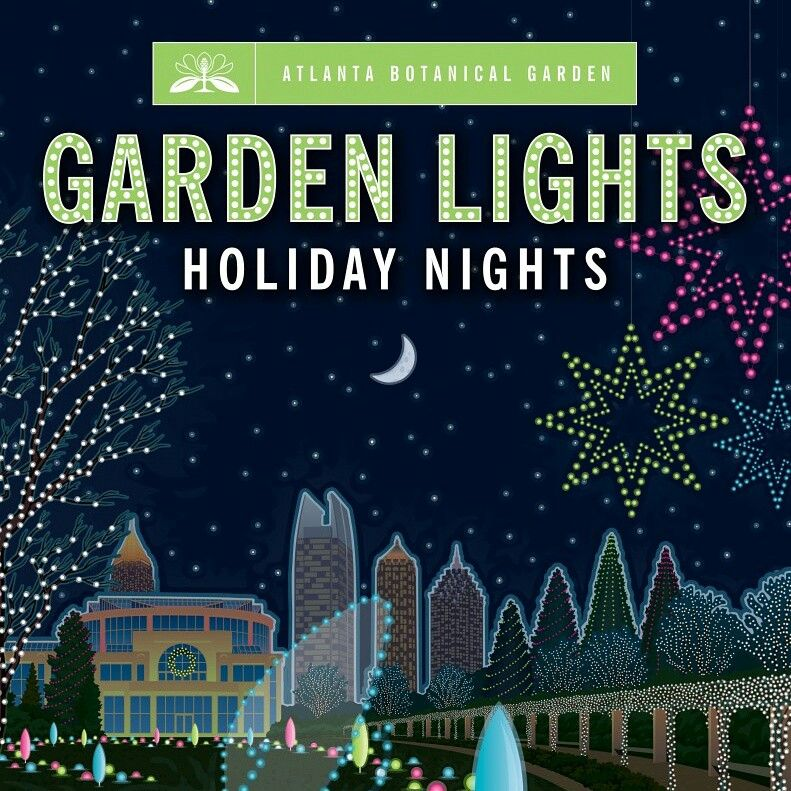 Discounts to Holiday Nights at the Atlanta Botanical
