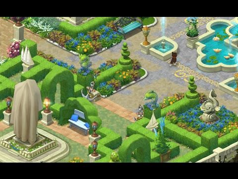 GARDENSCAPES NEW ACRES Gameplay Story Playthrough | Area 3 Maze Day 5