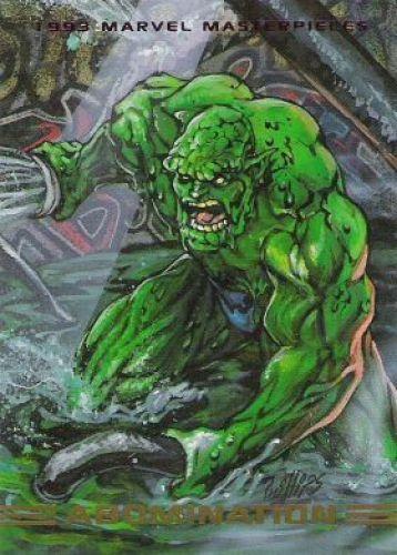 Abomination 1993 Marvel Masterpieces