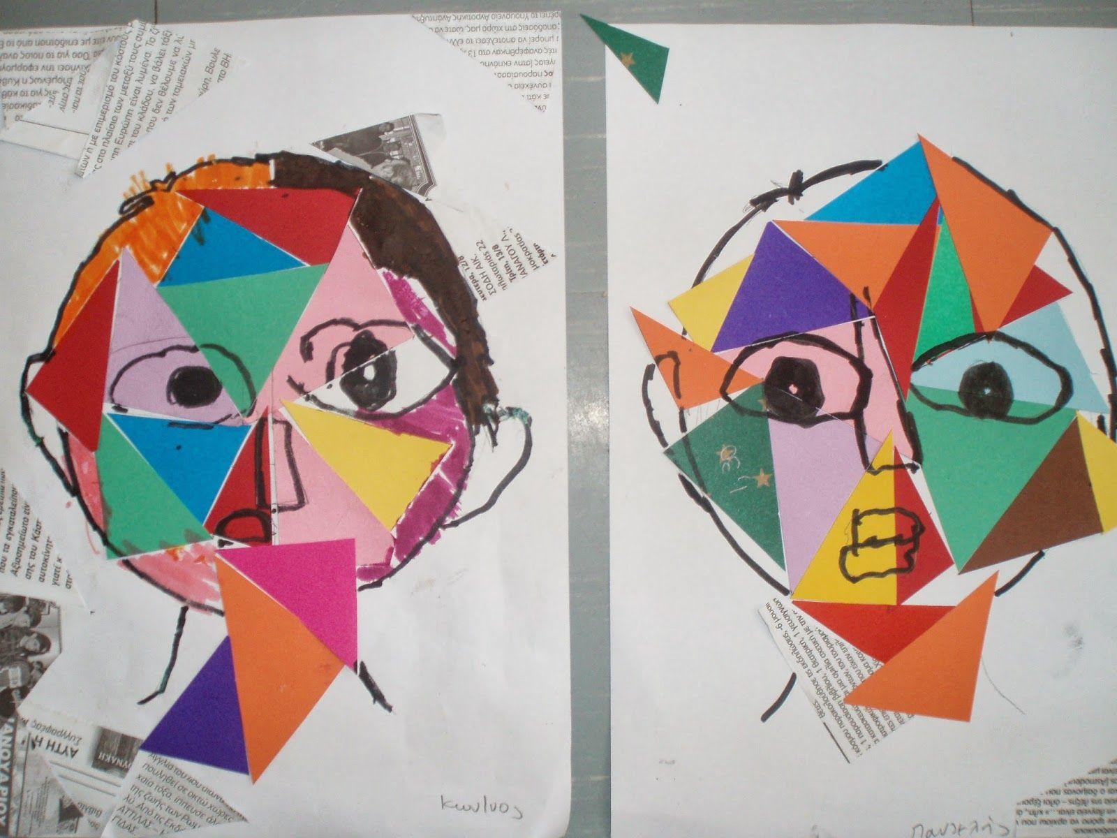 Kindergarten Art Class Pablo Picasso -art