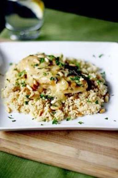 slow-cooker white wine garlic chicken