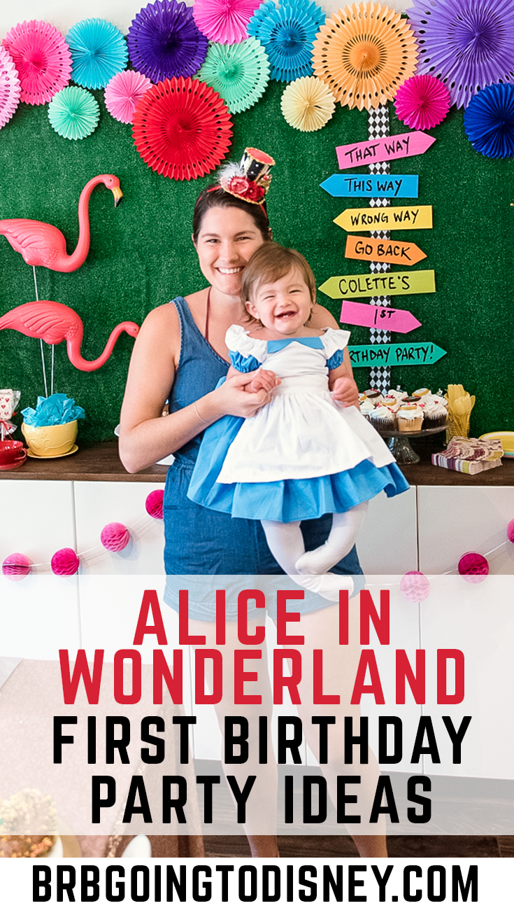 Alice In Wonderland First Birthday Party Alice In Wonderland Tea