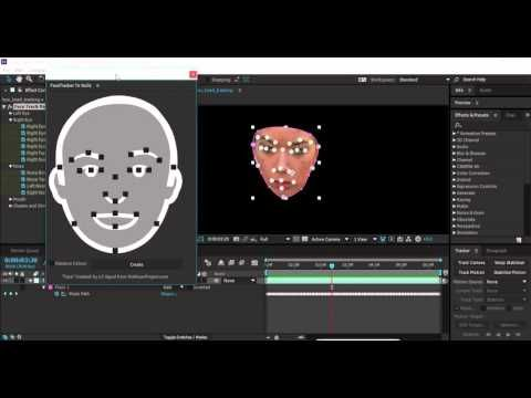 Extract Nulls from After Effects Face Tracker - Lesterbanks