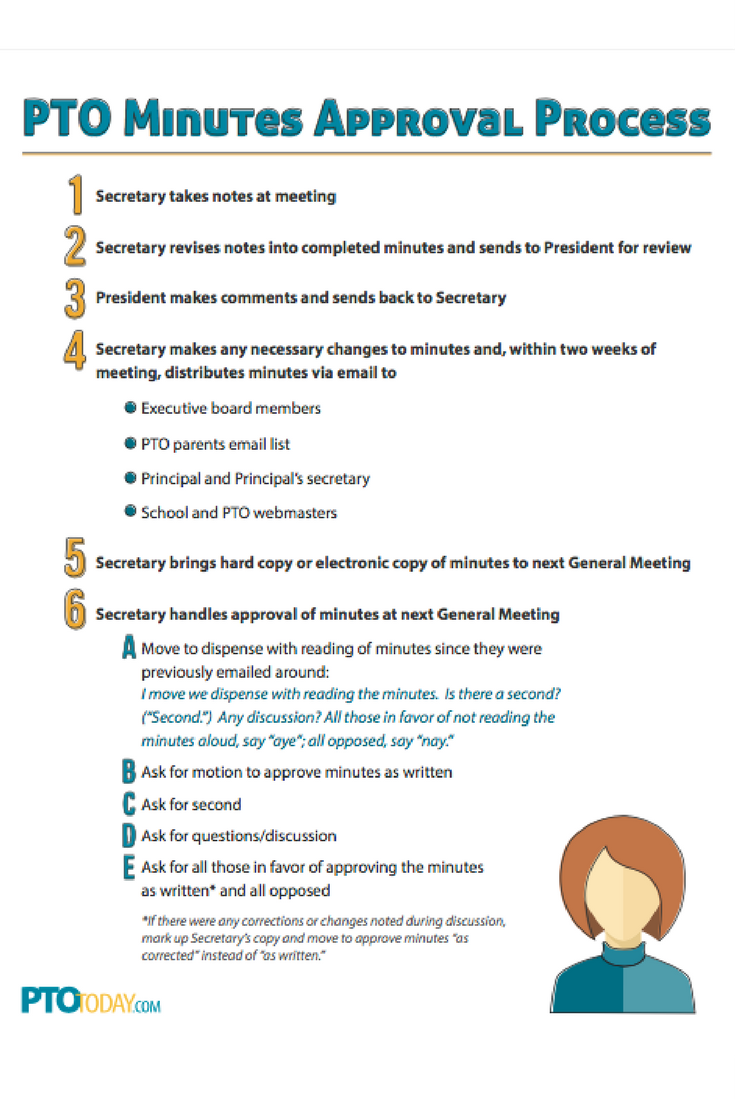 PTO President\'s Planning Checklist | Pinterest | Pta, Pto today and ...