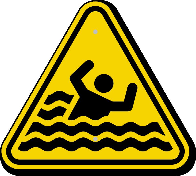 Iso Beware Drowning Warning Symbol Is 2057 Png 800 716 Pixels Signs Hazard Symbol Danger Photo