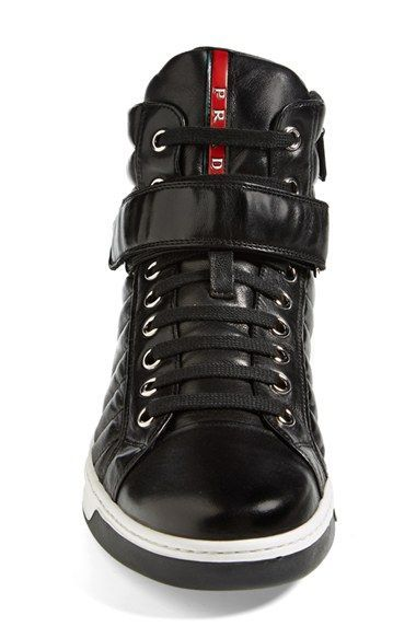 ce331c6b0721c Prada 'Avenue' High Top Sneaker (Men) | Nordstrom | Cool Mens ...