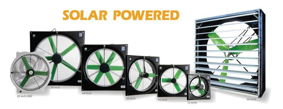 Greenhouse Fans Solar Powered Or Ac Snap Fan Has Many Options For Greenhouse Fans Snap Fan Com Solar Power Greenhouse Solar