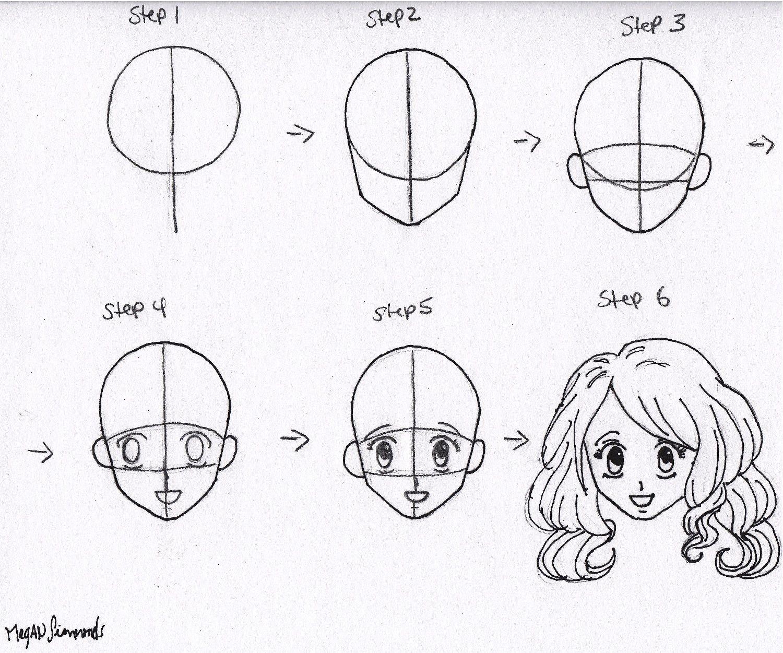 Manga Drawings Step by Step Bing Images Anime drawings