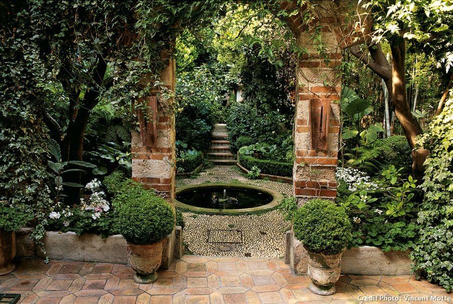 7 id es pour cr er un jardin m diterran en contemporain plantes vertes garden paths patio - Creer un jardin contemporain ...