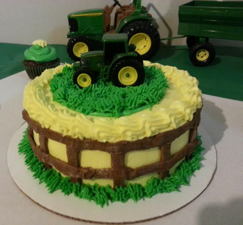 John Deere Birthday Cake Cake Ideas Pinterest Birthday cakes