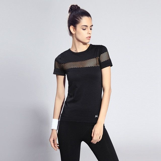 Women Sports Short Sleeve T-shirt