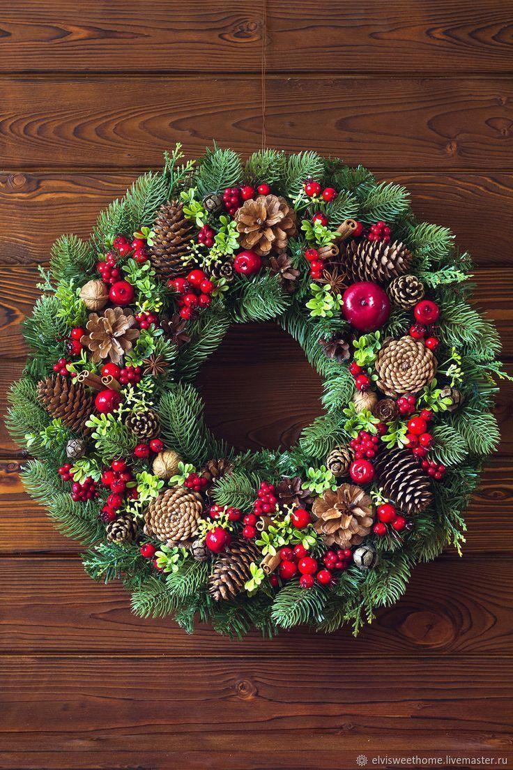 Neujahrskranz Die Prämie des Waldes – kaufen oder …, #kranz #neuja kaufen …..   – Weihnachten
