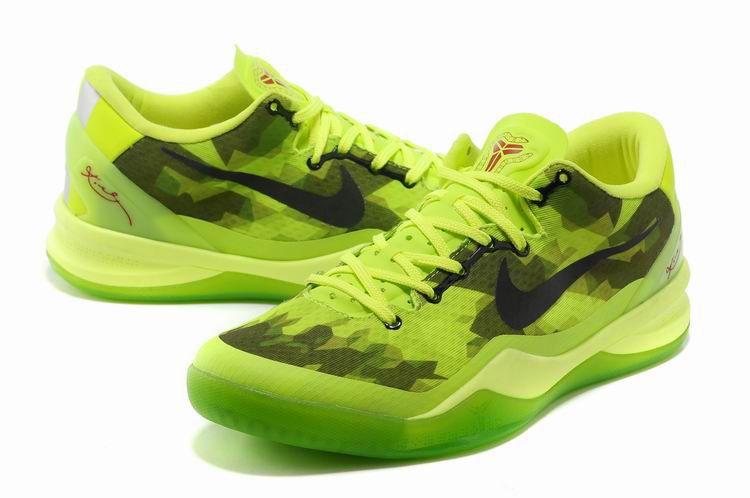 low priced 793dd 08731 Kobe shoes 2013 Kobe VIII Elite Fluorescent Green Black