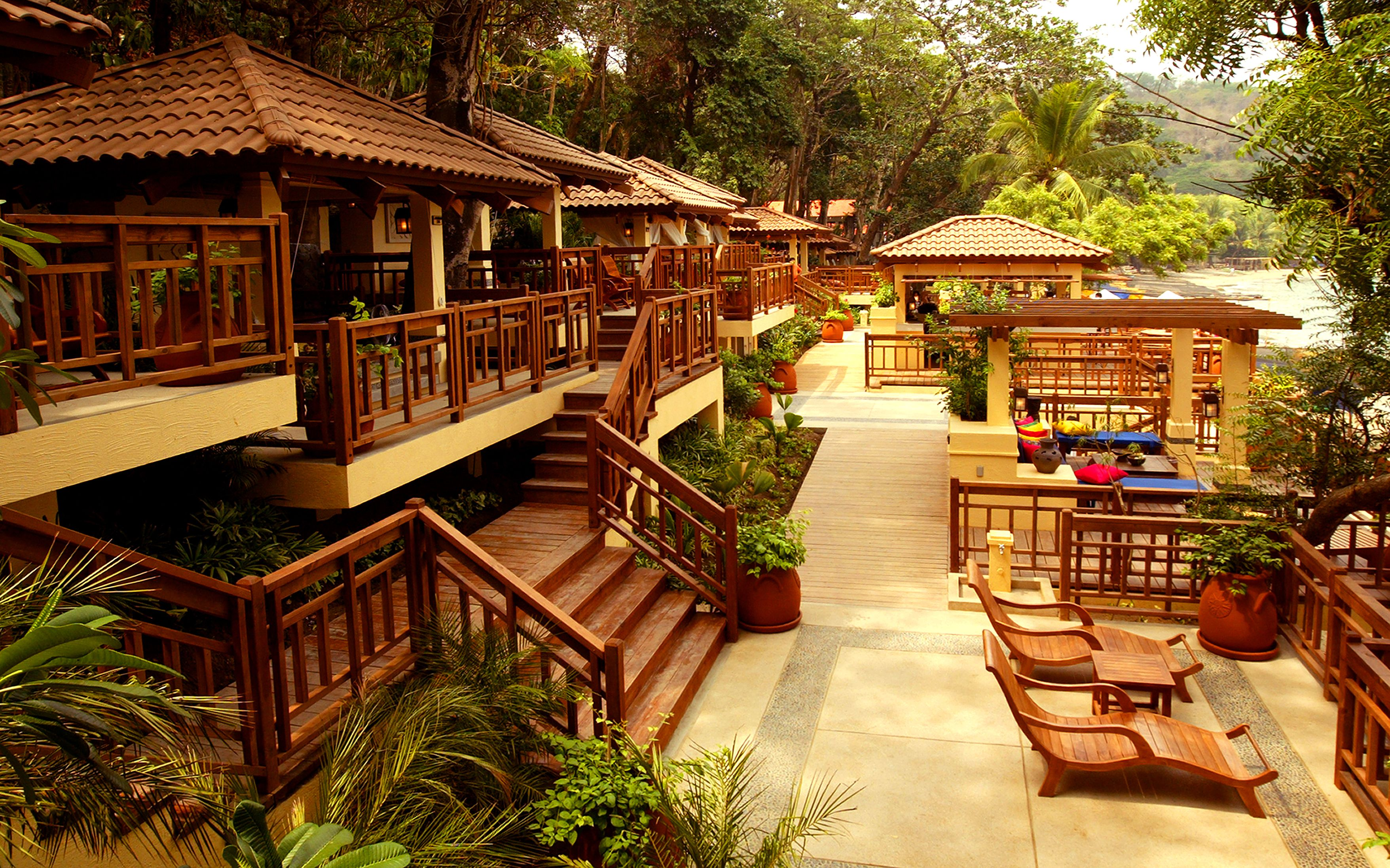 Boardwalk At Terrazas De Punta Fuego House Styles Cabin