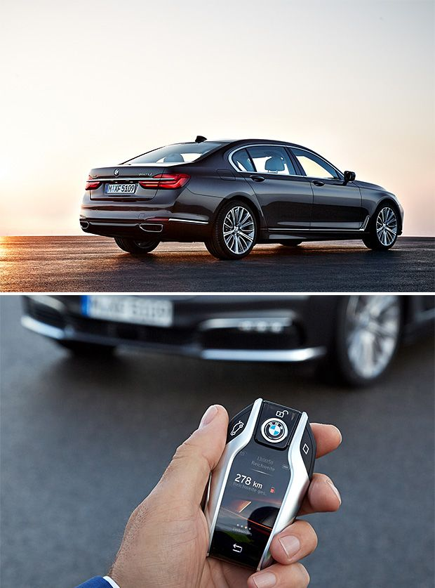 2016 BMW 7 Series We Love The Smart Key Innovations Galore