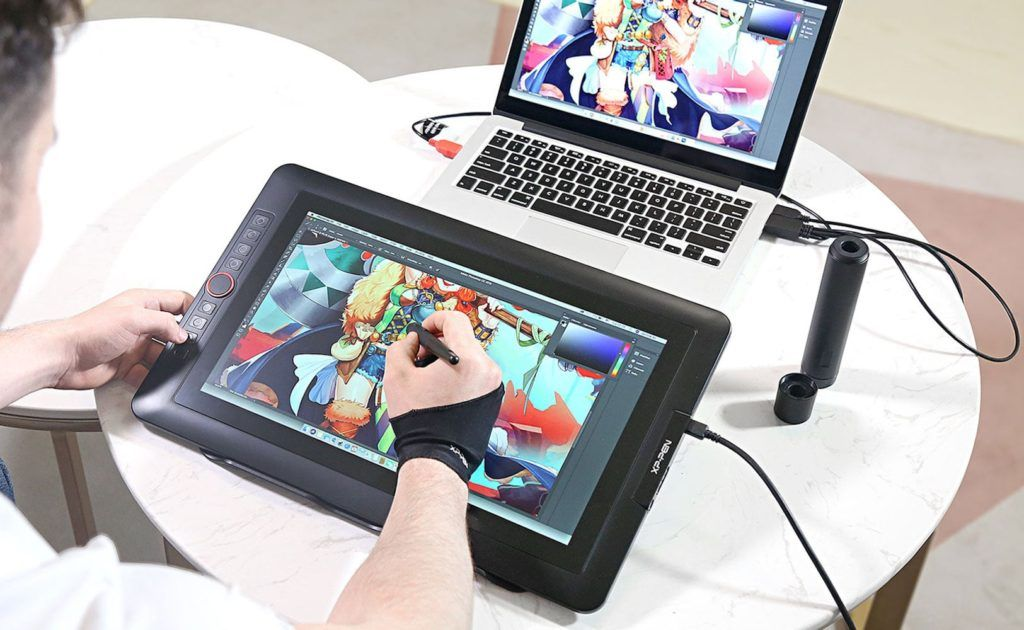 Xp Pen Artist Display 15 6 Pro Holiday Edition Tablet Encourages Creativity Throughout The Year Drawing Tablet With Screen Drawing Tablet Tablet
