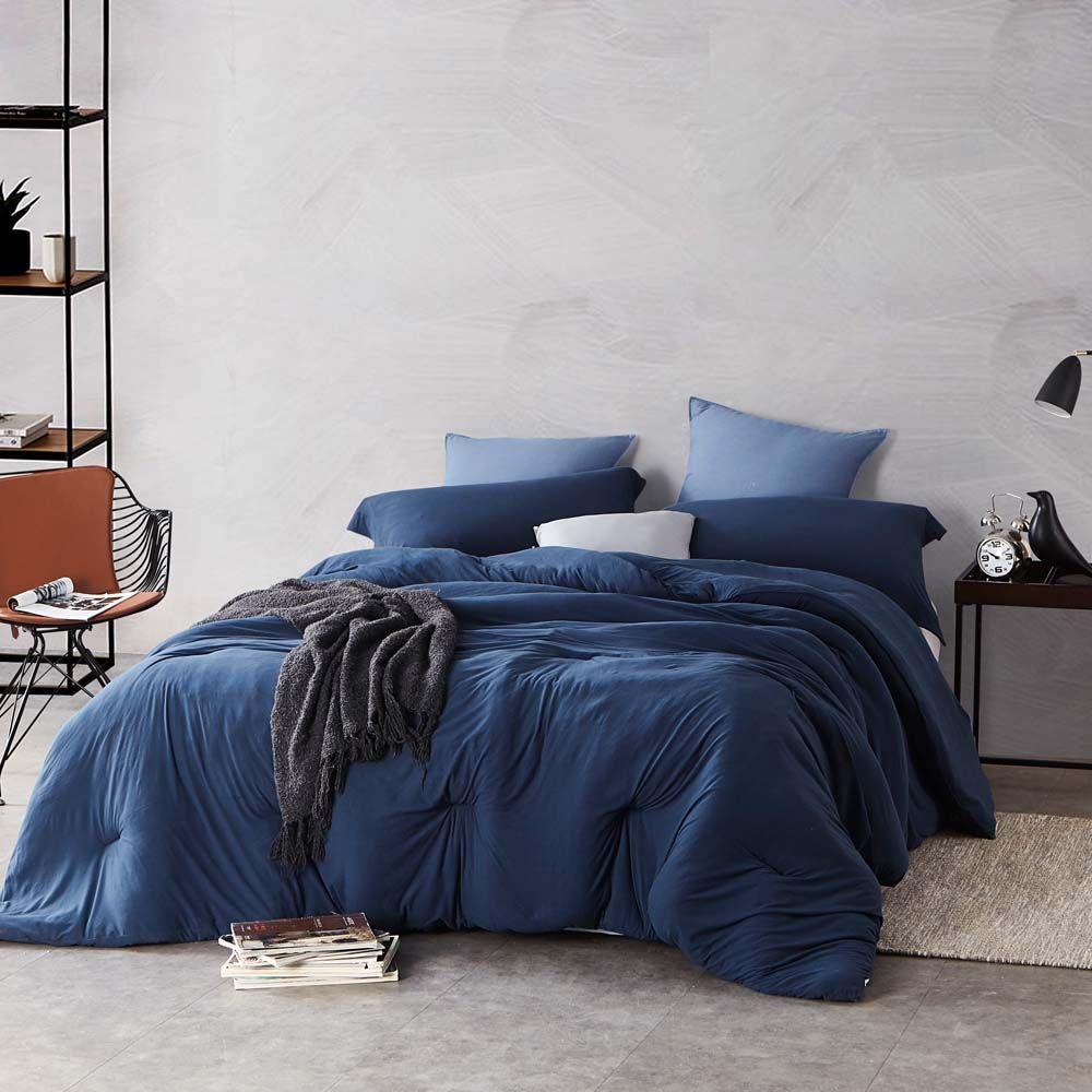 Bare Bottom College Dorm Comforter Twin Xl Bedding Nightfall Navy In 2021 Blue Comforter Bedroom Bed Comforters Navy Comforter Bedroom Navy blue twin xl comforter