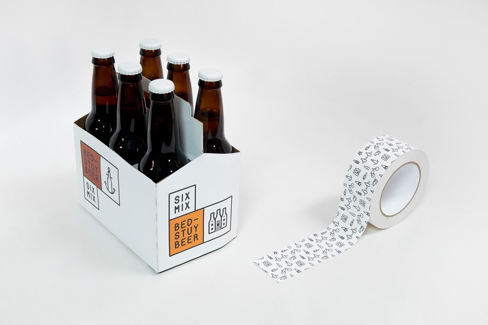 A rebrand of a beer shop in Bed-Stuy, Brooklyn, that sells beer by bottles, cans, draught and kegs.The branding concept consists of nine different logotypes, a typeface, signs and packaging, all saying that Bed-Stuy Beer makes Brooklyn.This is a Schoo…