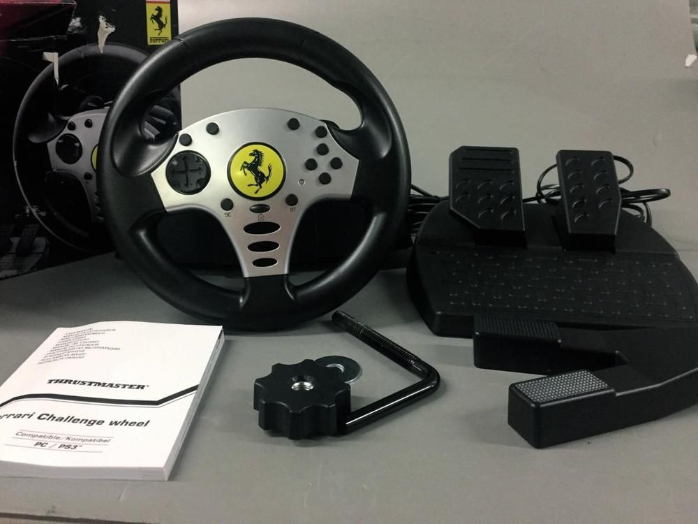 Thrustmaster Ferrari Challenge Wheel For Ps3 And Pc Pre Owned Good