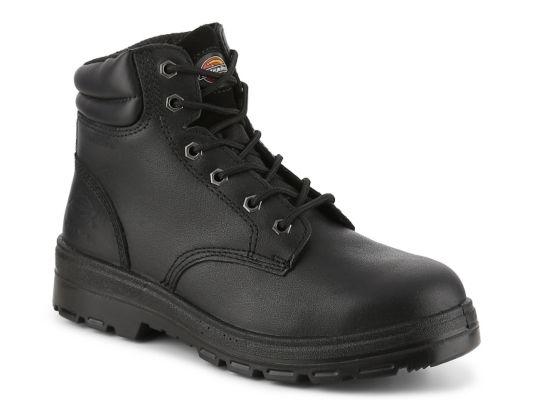 Men's Dickies Challenger Steel Toe Work Boot - Black