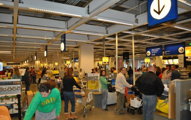 The Ikea Store In Denver Centennial Is Ginormous Pictures