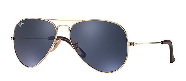 Ray Ban Aviator Large Metal Gold Solid yellow Occhiali da sole XIwTppudj
