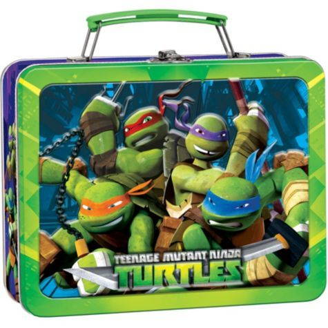 Teenage Mutant Ninja Turtles Lunch Box Party City Teenage Mutant Ninja Turtles Party Teenage Mutant Ninja Turtle Birthday Ninja Turtles Birthday Party