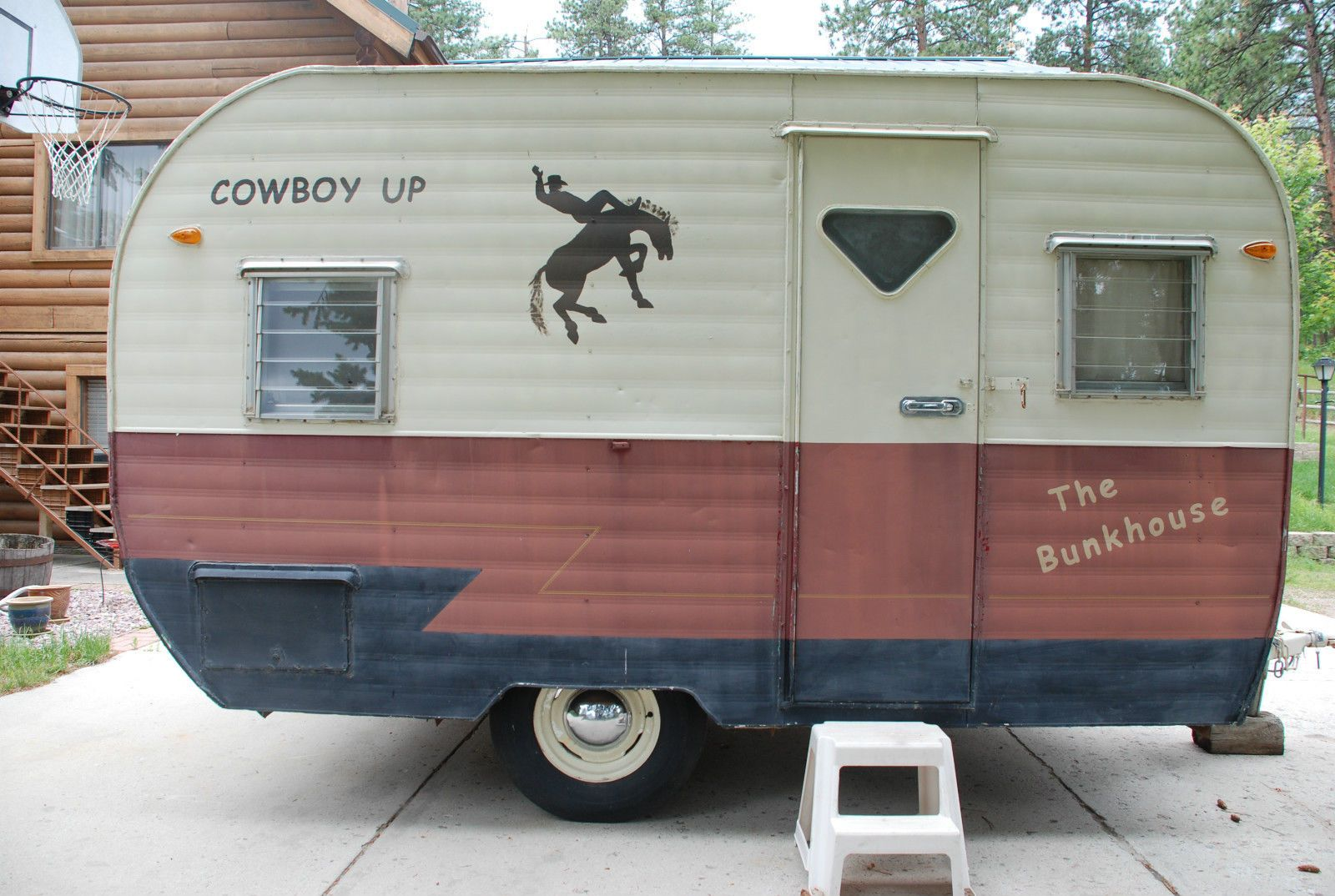 57 Vintage Rodeo travel trailer 12\